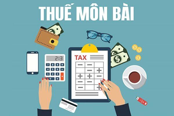 Tìm hiểu về thuế môn bài doanh nghiệp
