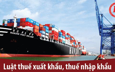 Tìm hiểu chung về thuế xuất nhập khẩu