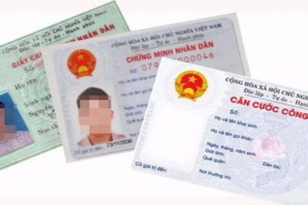 Thủ tục làm lại chứng minh nhân dân và thẻ căn cước công dân