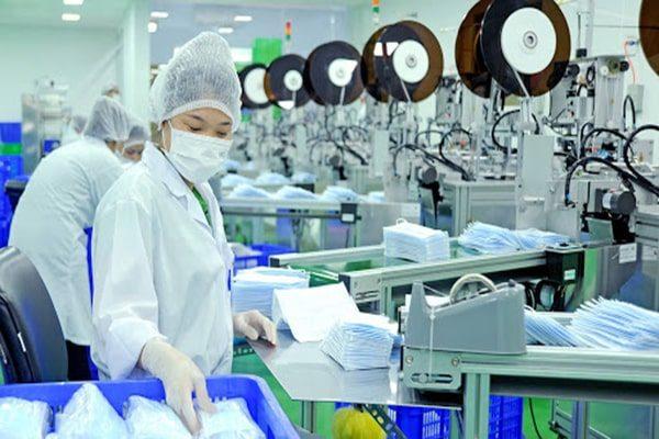 Điều kiện sản xuất khẩu trang y tế