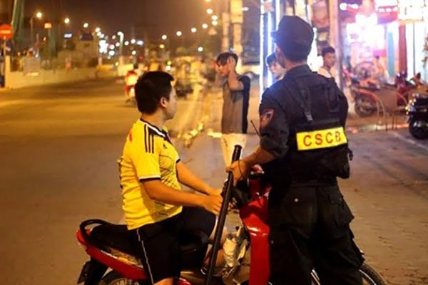 Cảnh sát cơ động được xử lý vi phạm gì?
